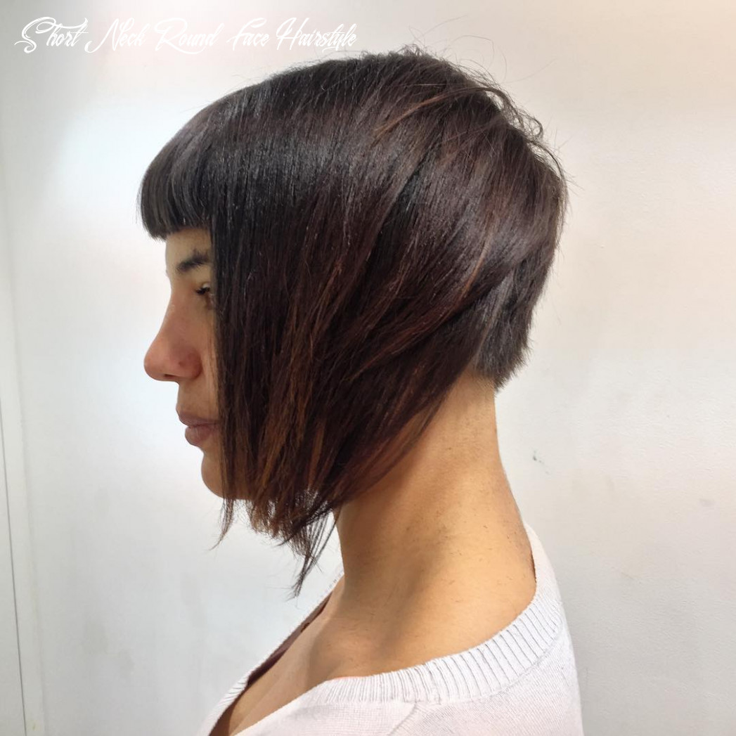 Hair length, cuts & hairstyles for women with short necks hair