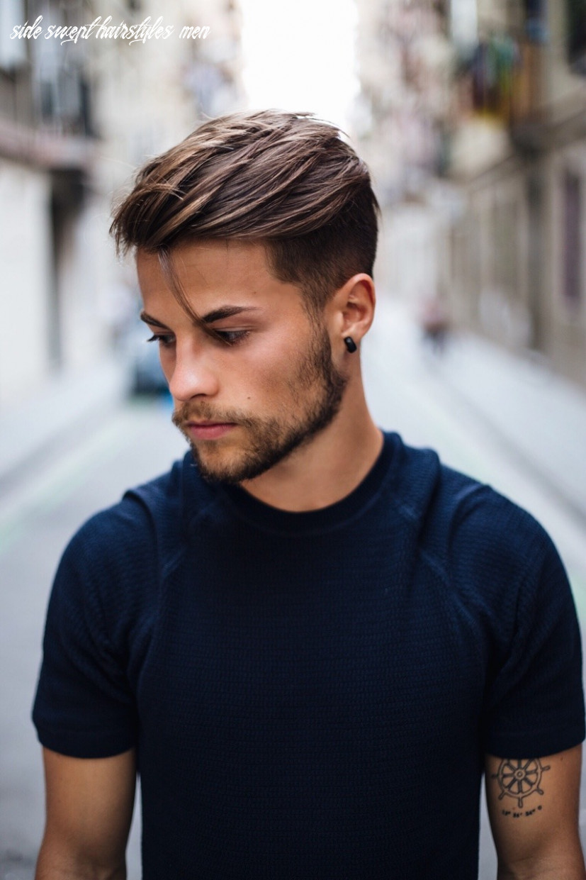 Hair product suggestion for kevin elezaj side swept hairstyle with