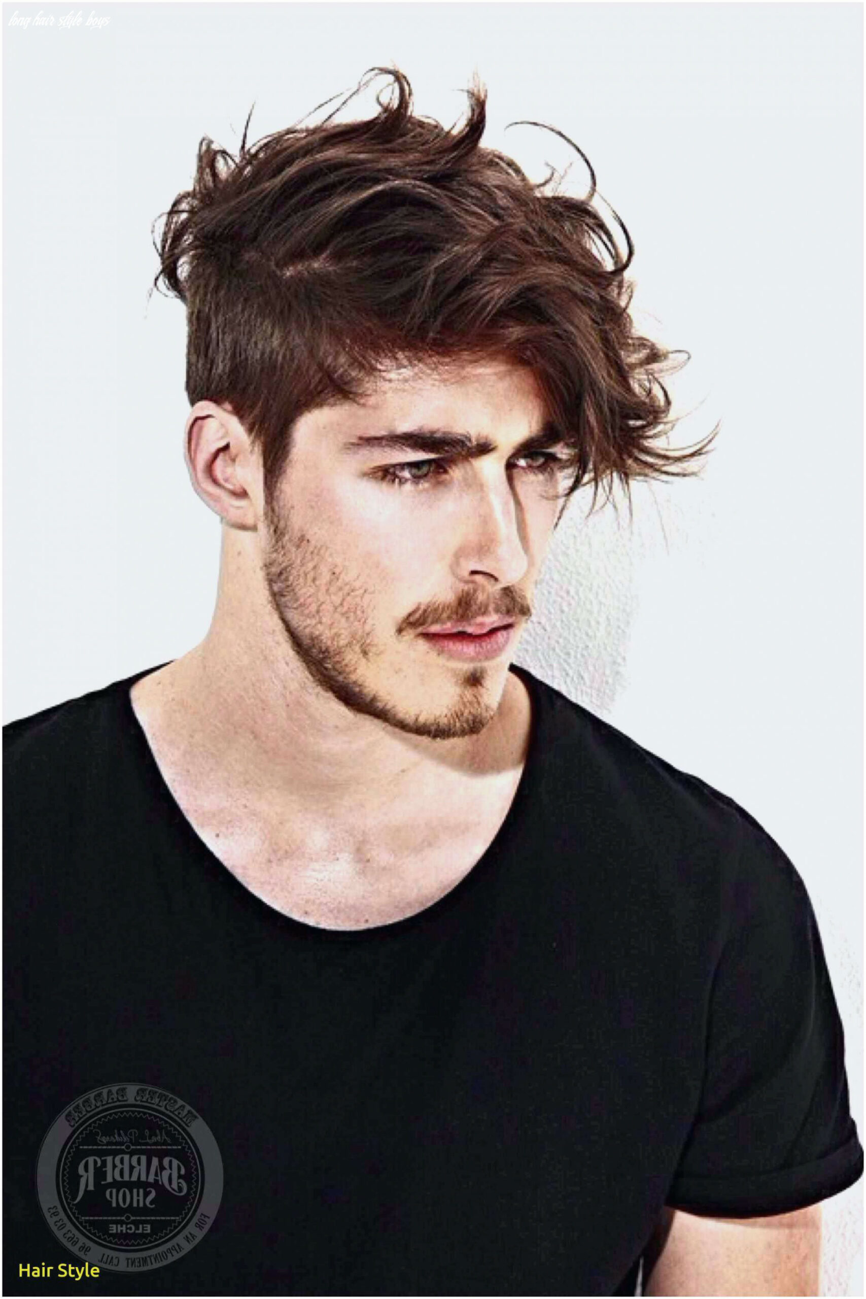 Hair style boys new fashion cool men long hairstyle awesome dyed
