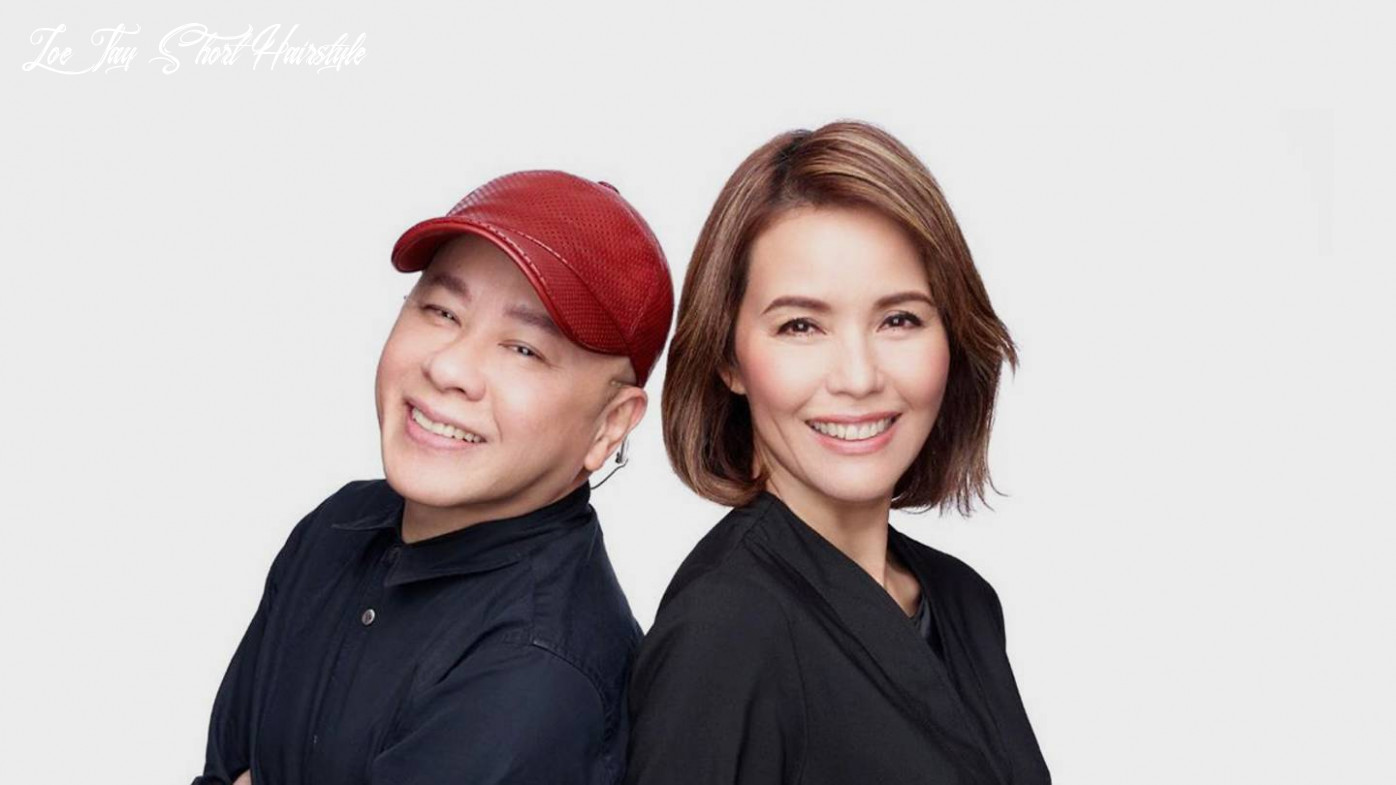 Hair styling tips to look younger from david gan and edward chong zoe tay short hairstyle