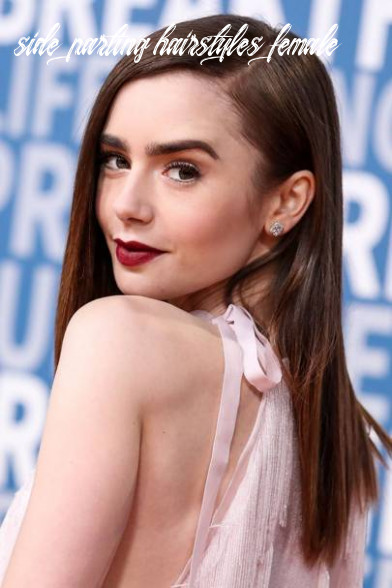 Hair trend ideas: side parting celebrity hairstyles   glamour uk side parting hairstyles female