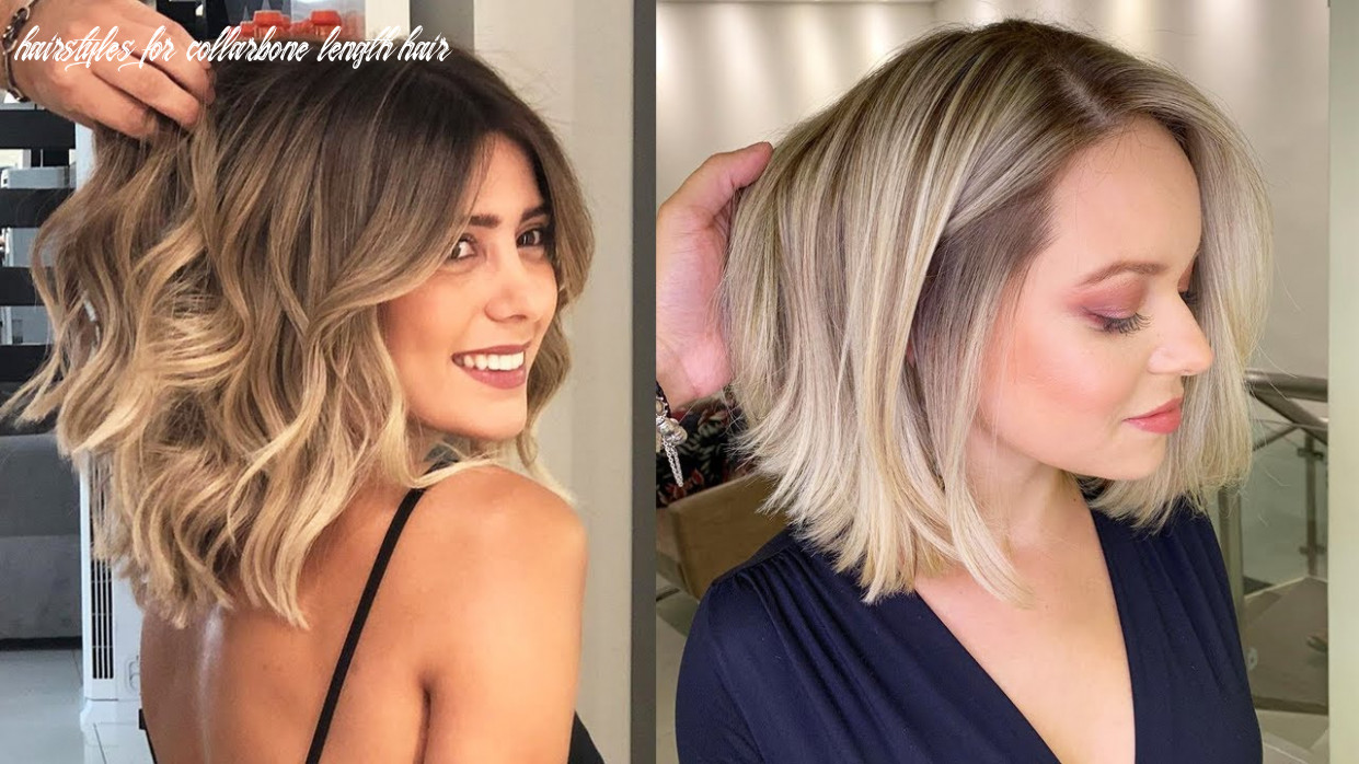 Hair trend long to shoulder length hair hairstyles for collarbone length hair