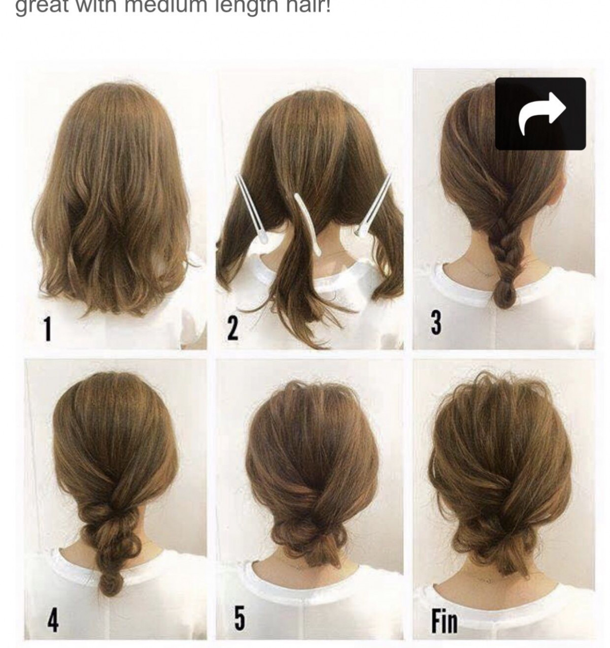 Hair tutorials | hair tutorials for medium hair, hair styles