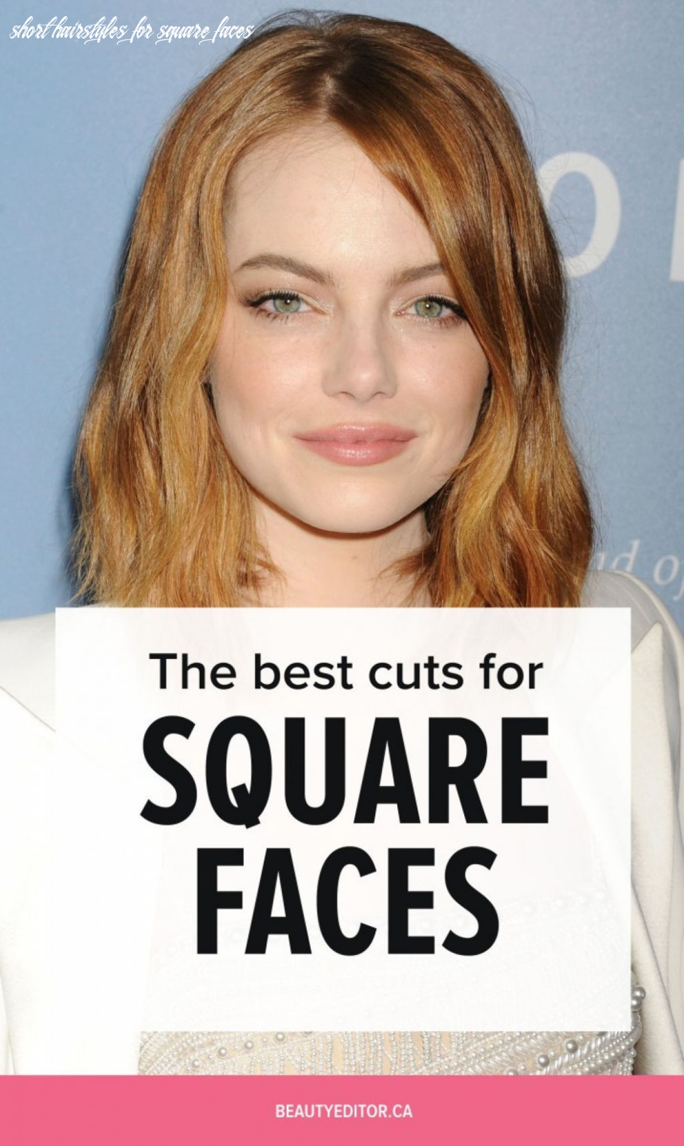 Haircut 8 square face | square face hairstyles, square face