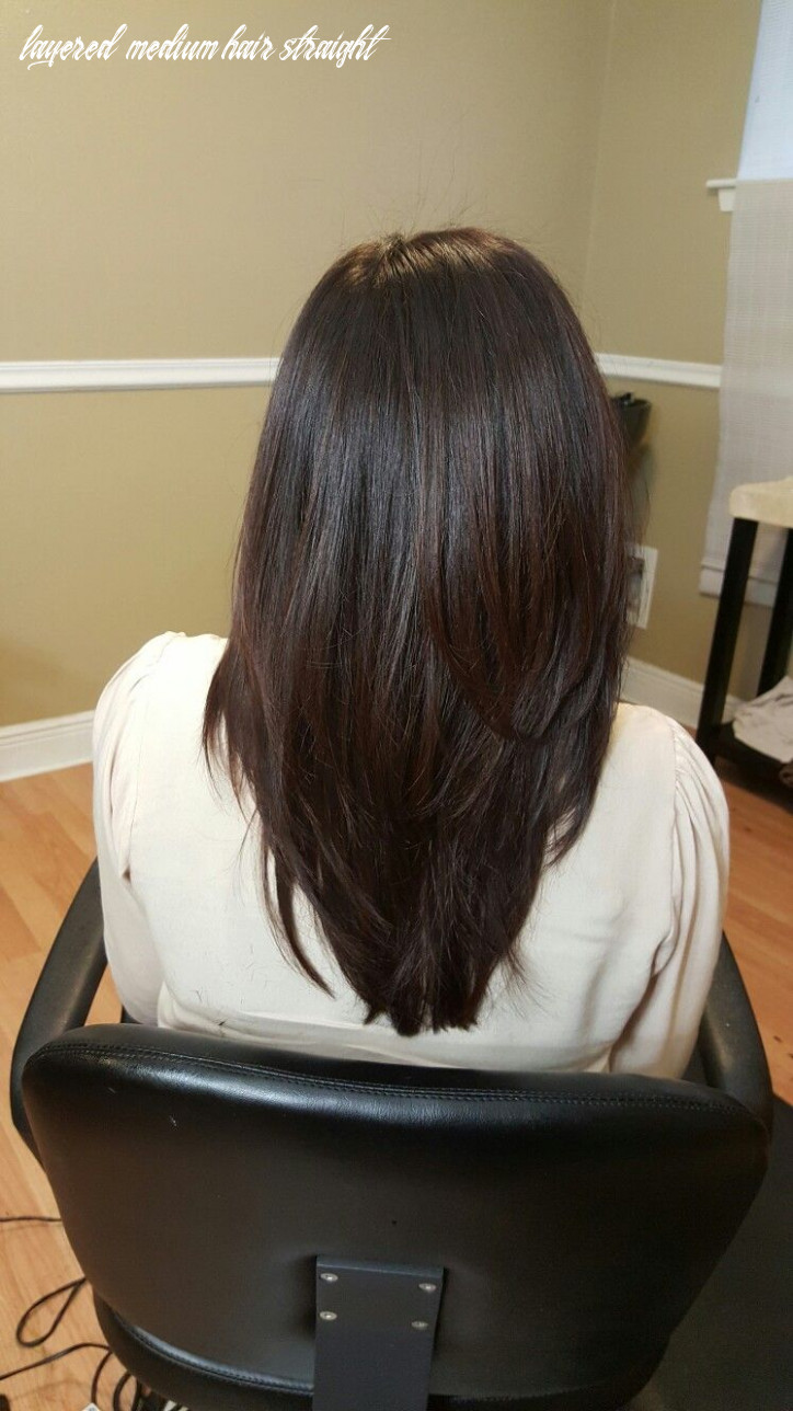 Haircut & style | long | layers | layered | straight | blow out