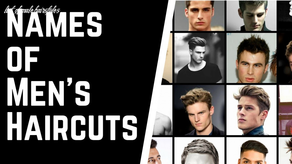 Haircut names for men & how to tell your barber or hairstylist what you want thesalonguy list of male hairstyles