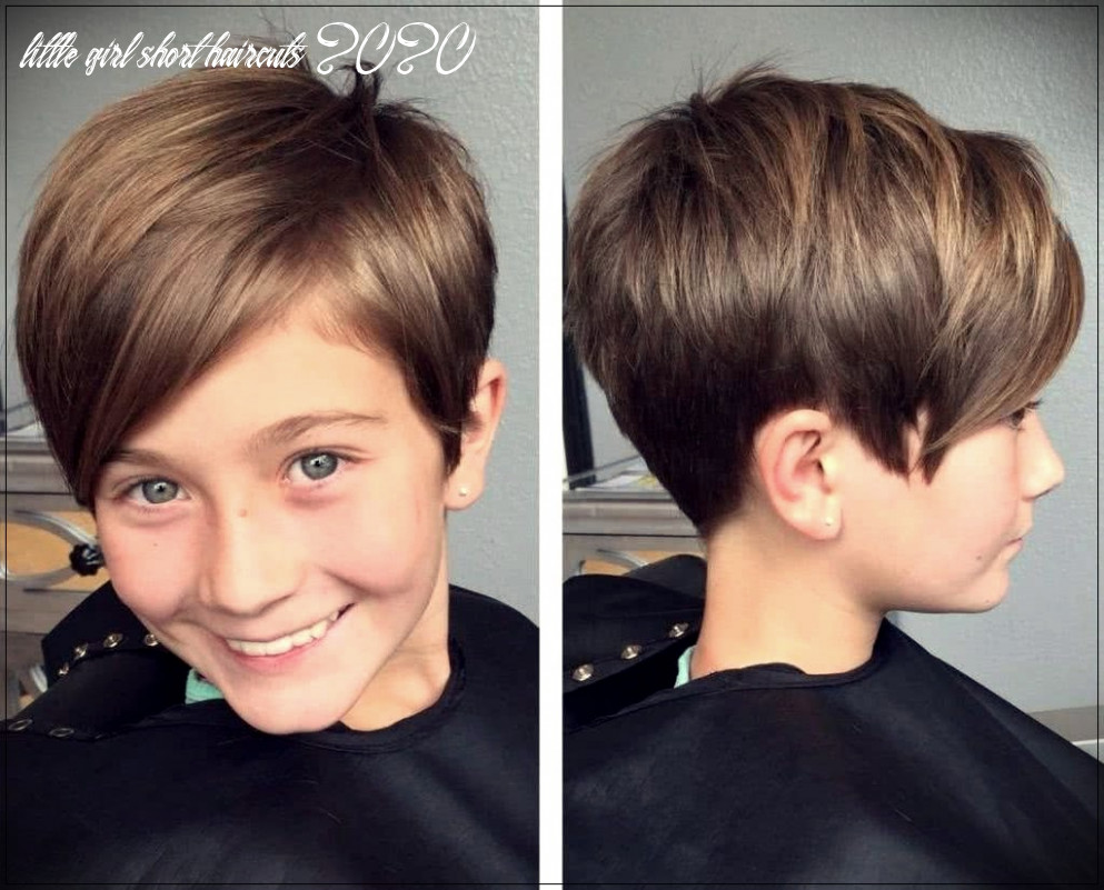 Haircuts for girls 8: trends and photos | little girl short haircuts 2020