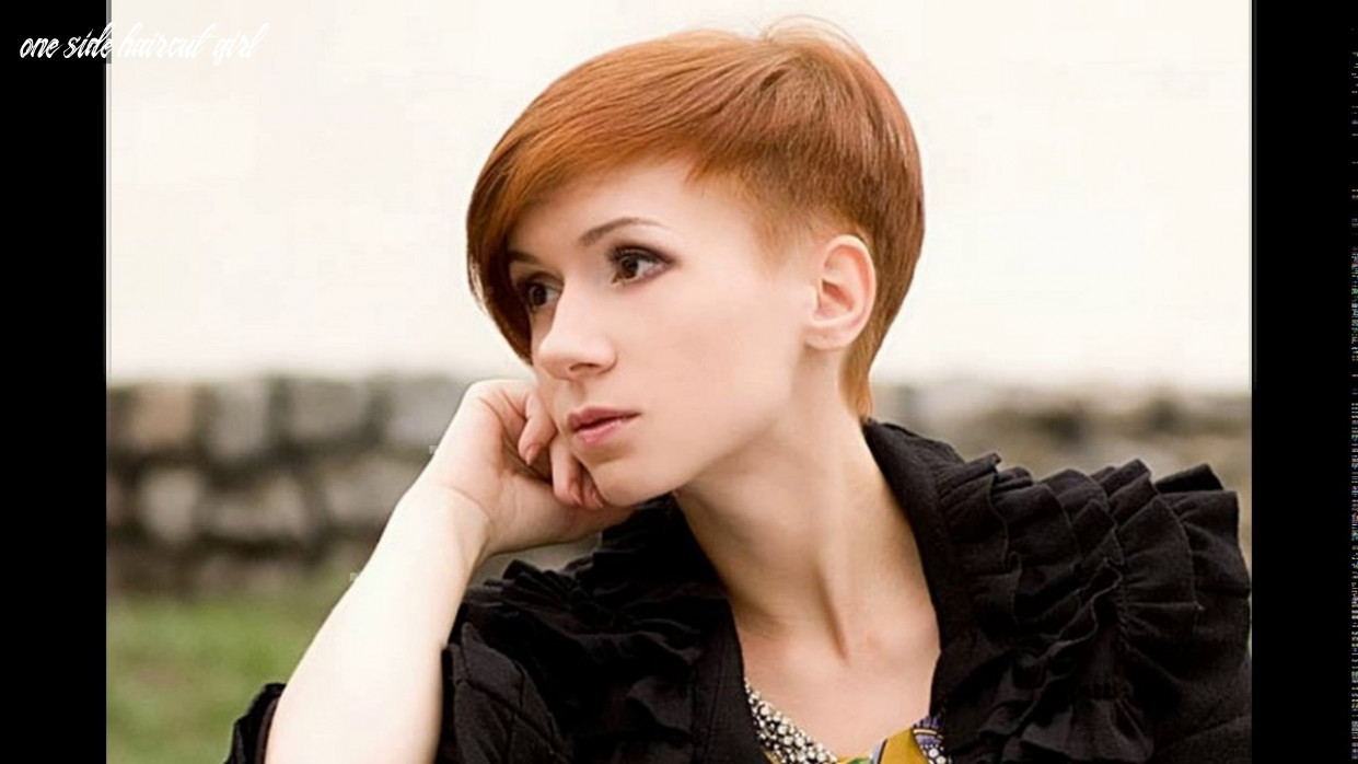 Haircuts one side long other short youtube one side haircut girl