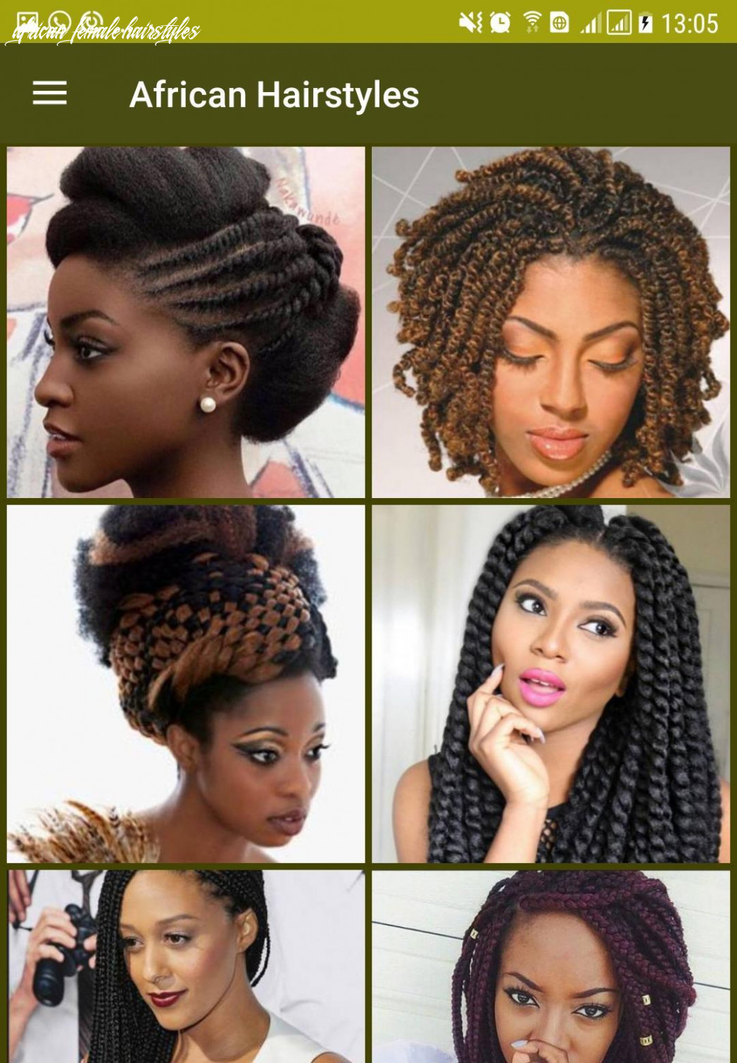 Hairstyle for african women for android apk download african female hairstyles