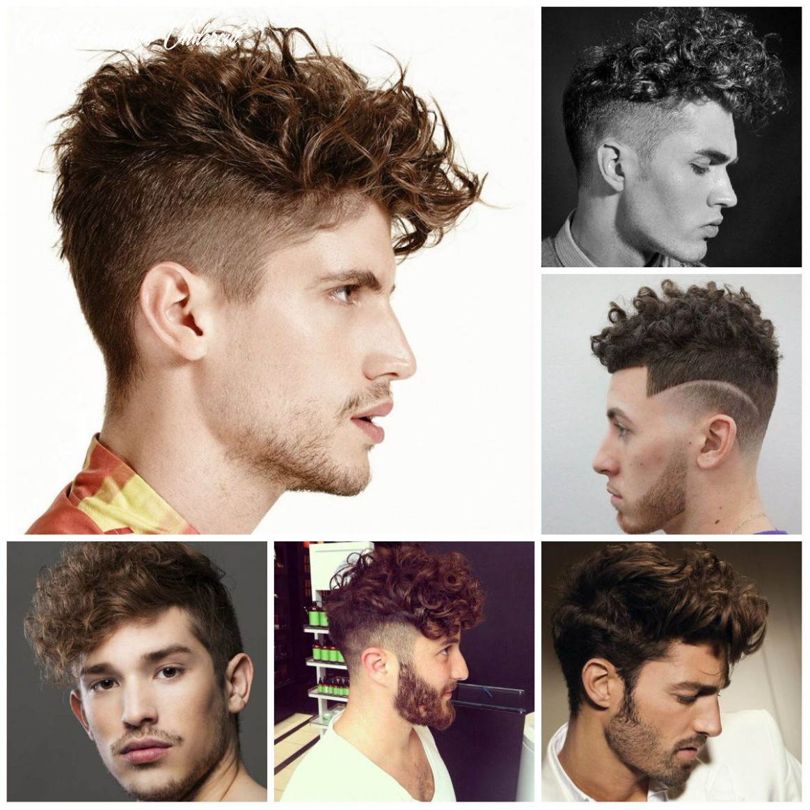 Hairstyle for curly hair male 11   curly hair men, loose