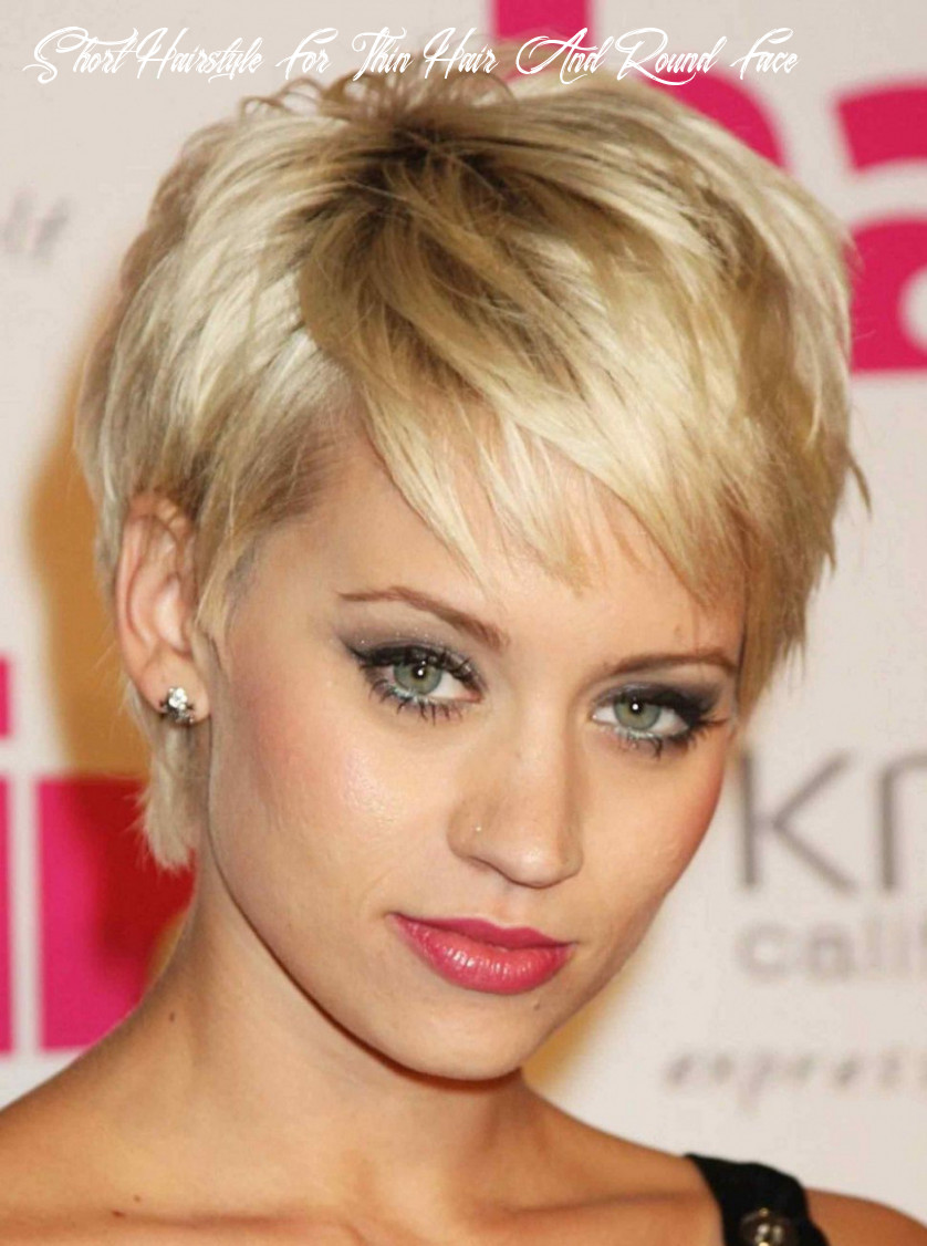Hairstyle for curly short hair round face best of hairstyles for
