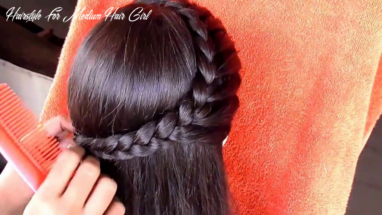 Hairstyle for medium hair || medium hair hairstyle for girls hairstyle for medium hair girl