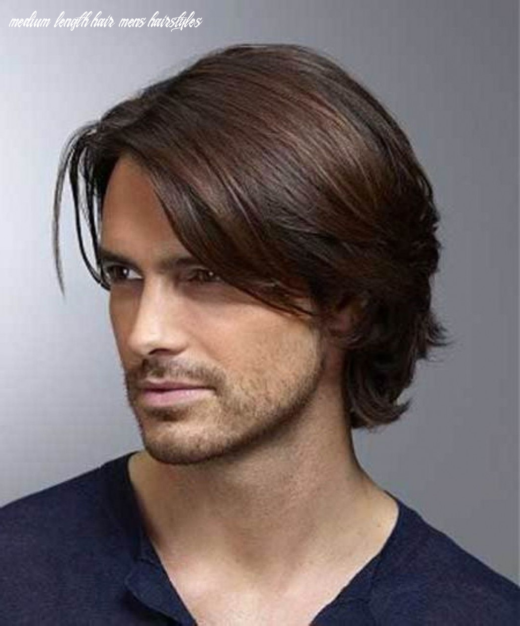 Hairstyle for medium length hair for men 8 images about men