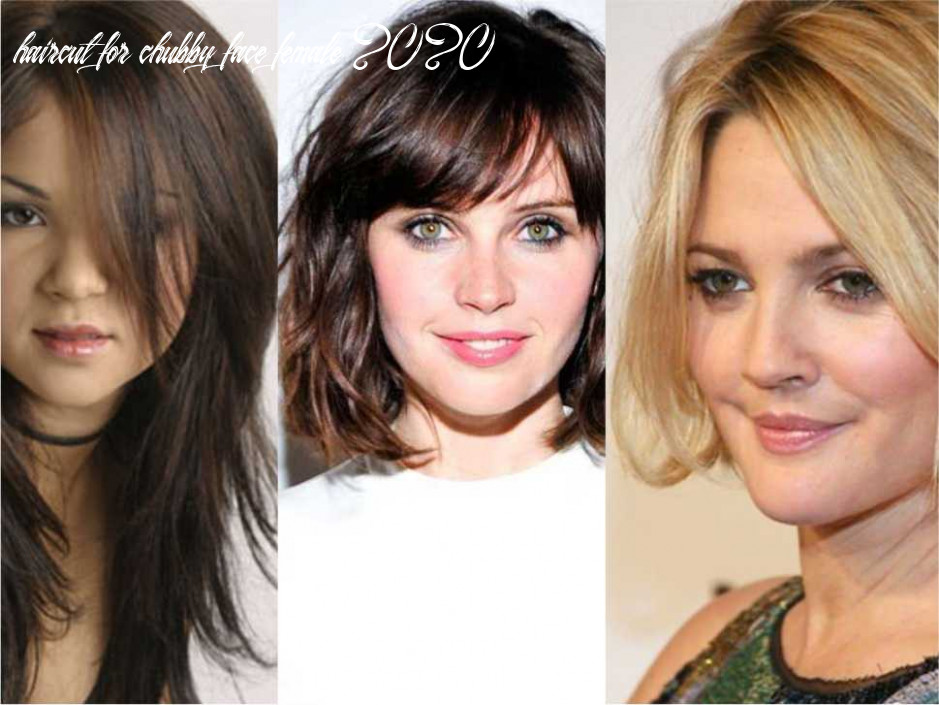 Hairstyle for round face women in 12 styles week haircut for chubby face female 2020