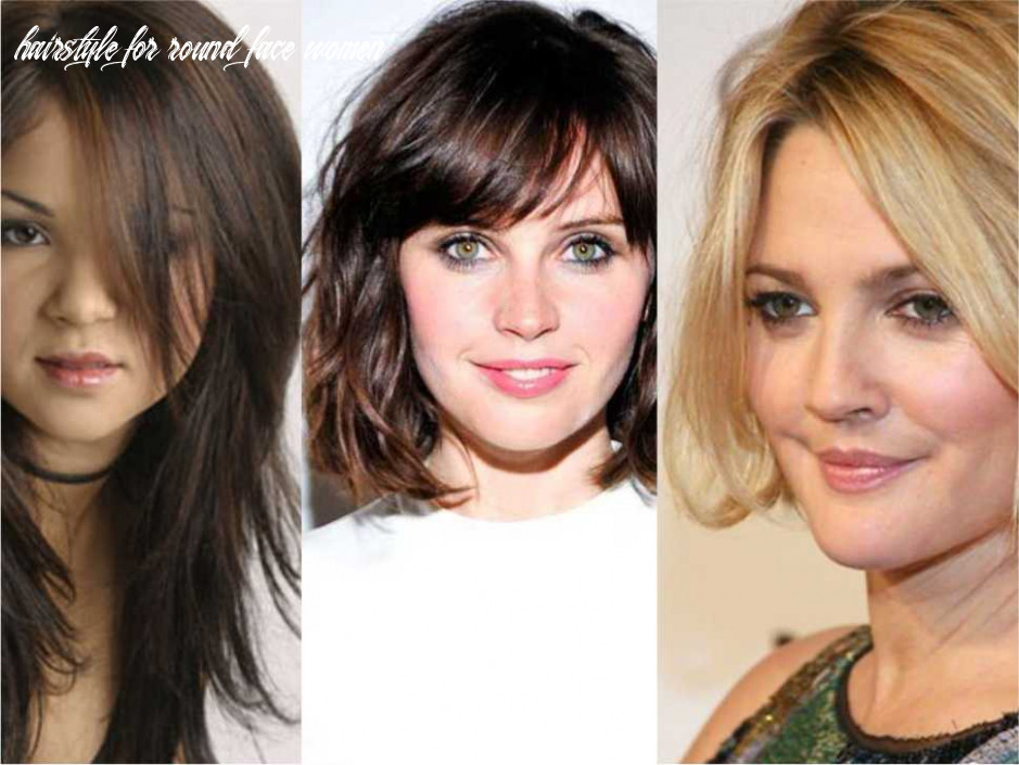 Hairstyle for round face women in 12 styles week hairstyle for round face women