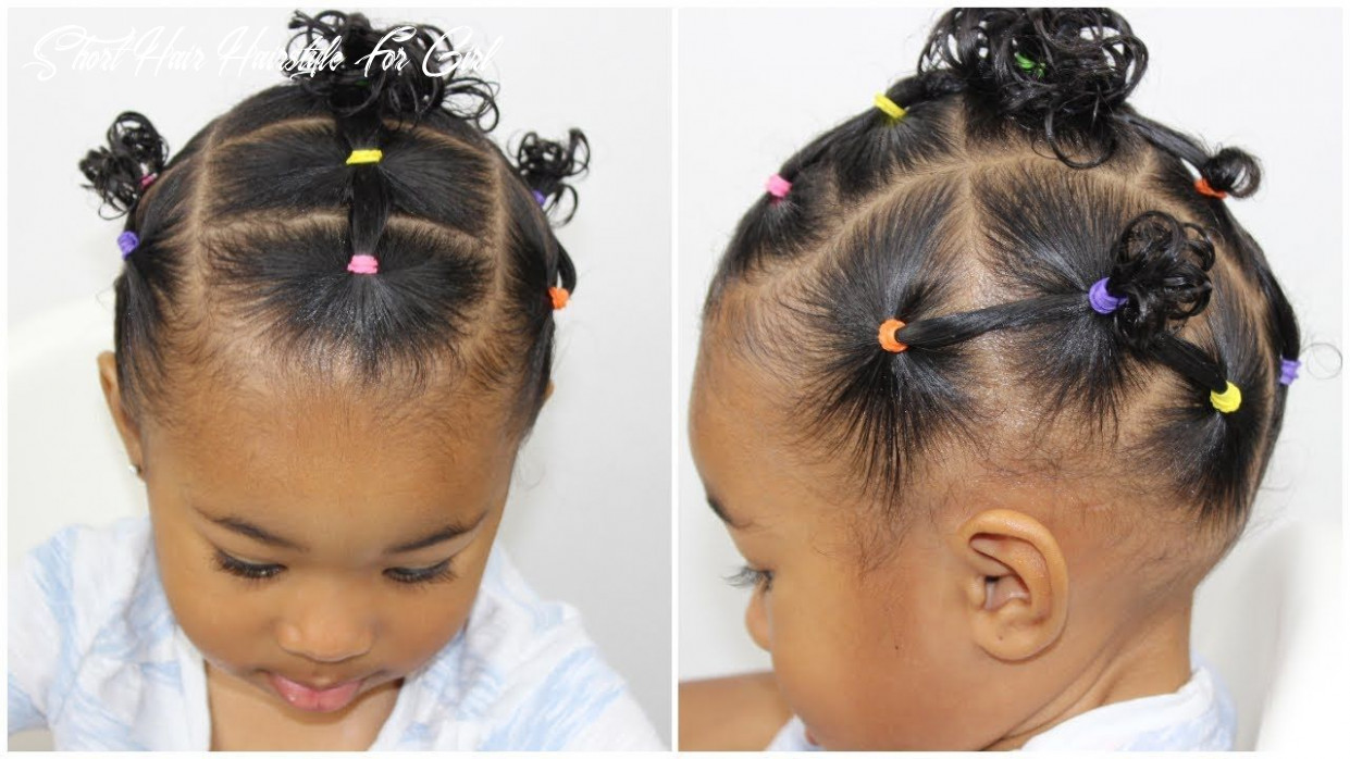 Hairstyle for toddlers with short hair | lil girl hairstyles, cute