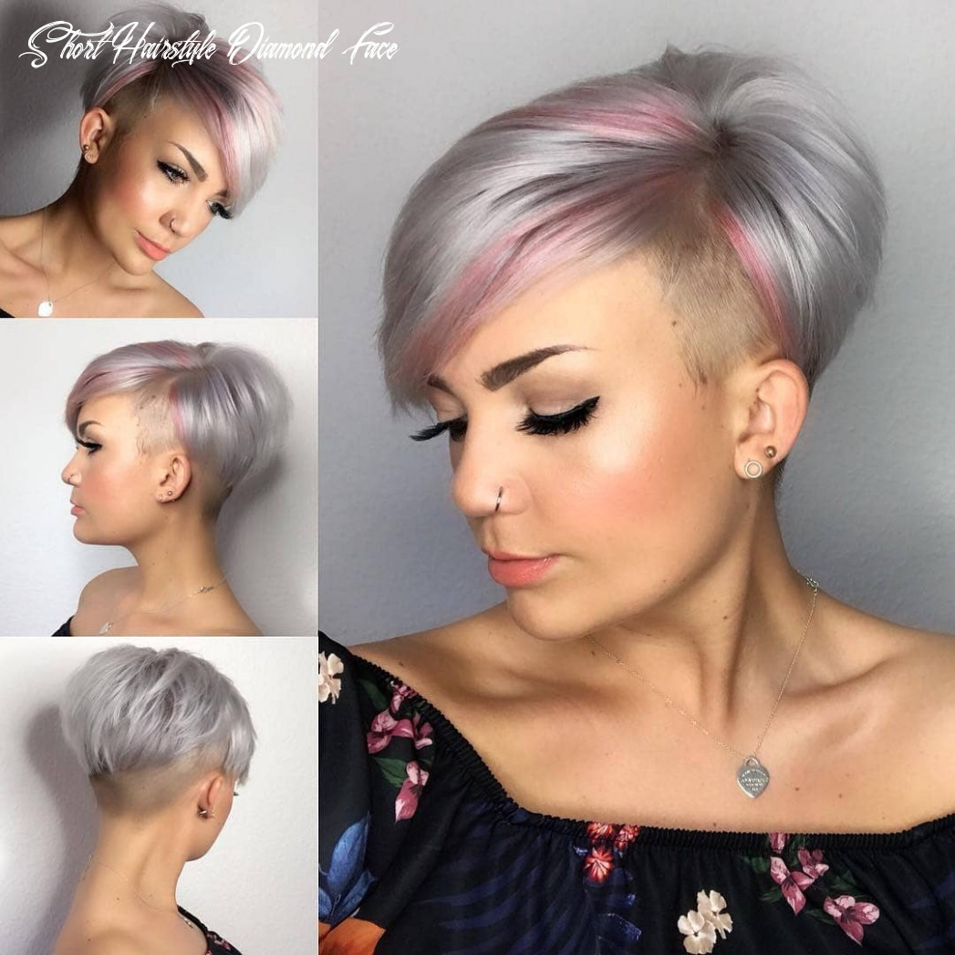 Hairstyle for tricky but lovely diamond shape | worldhairtrends