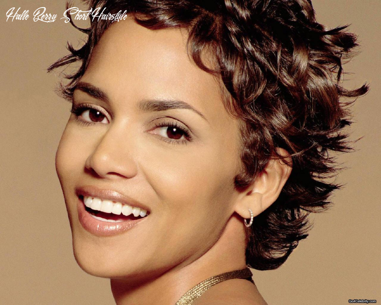 Hairstyle short: october 10 halle berry short hairstyle