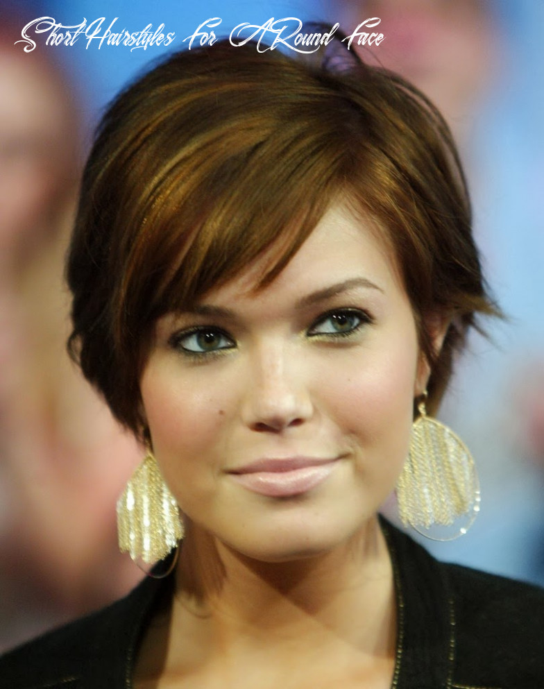 Hairstyle Trends: Best Short Hairstyles for Round Face 8