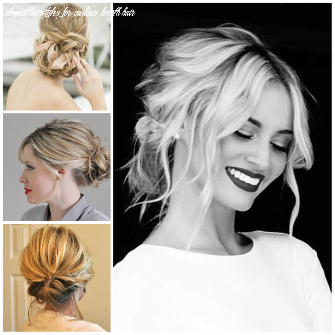 Hairstyle Updo Best Updos For Medium Length Hair - Hairstyles Magazine