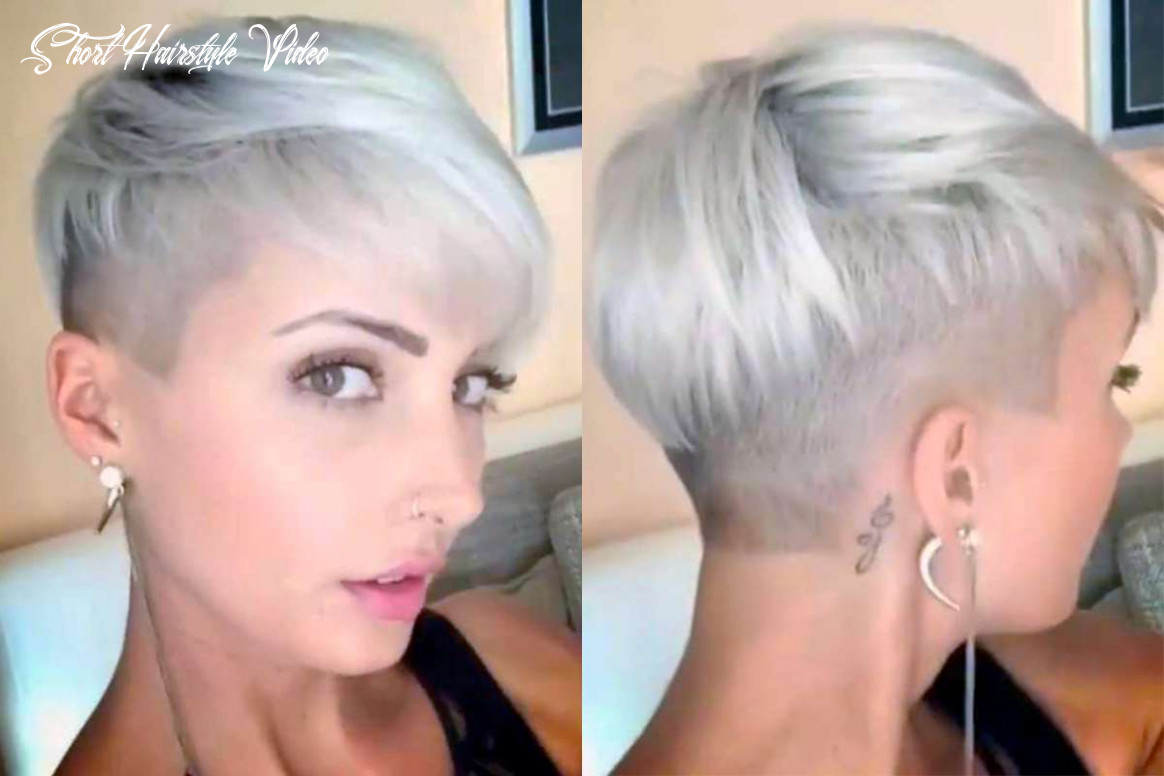 Hairstyle video for short hair | fashion and women short hairstyle video