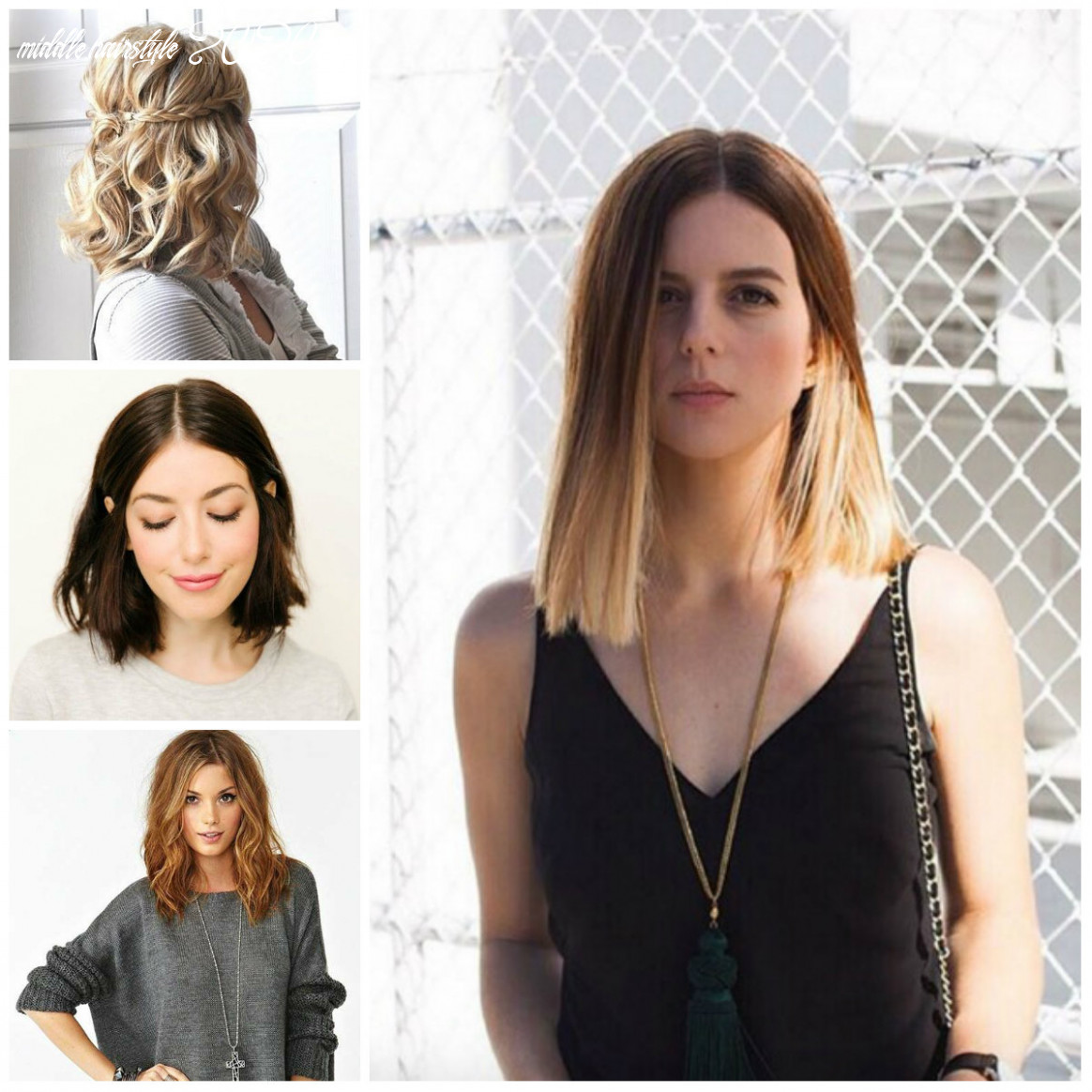 Hairstyles : 12 medium length hairstyles for 12 beauty haircut