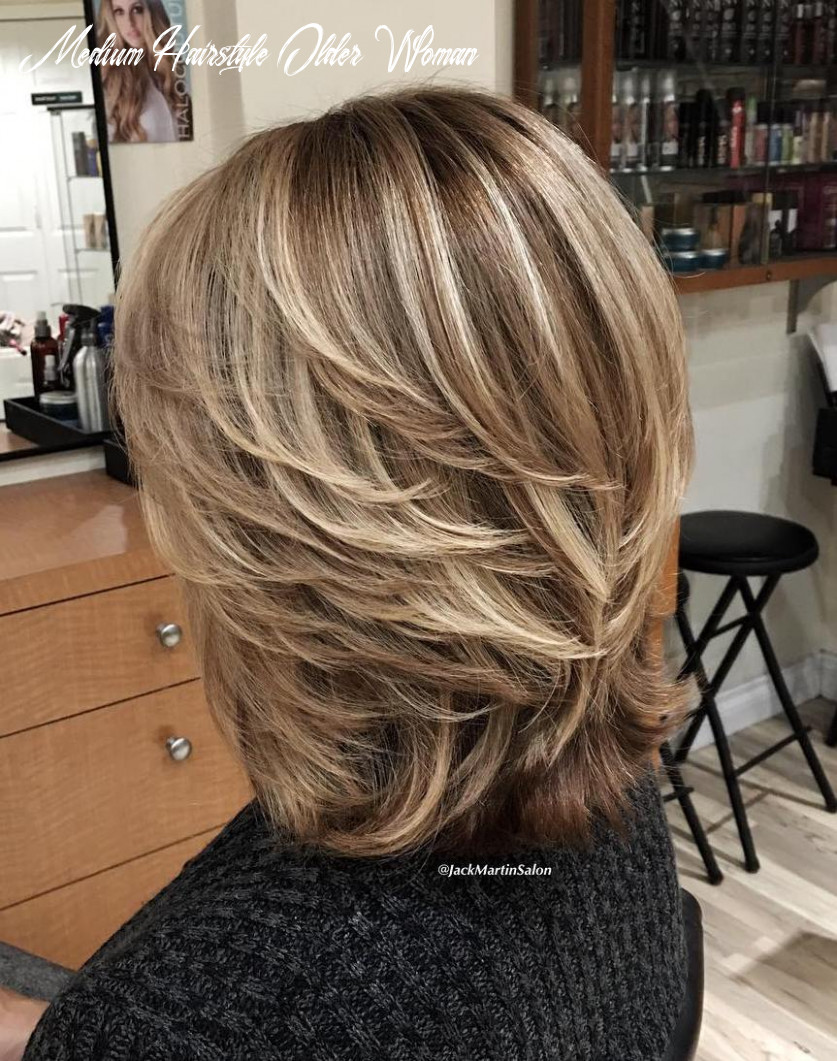 Hairstyles and haircuts for older women in 12 — therighthairstyles medium hairstyle older woman