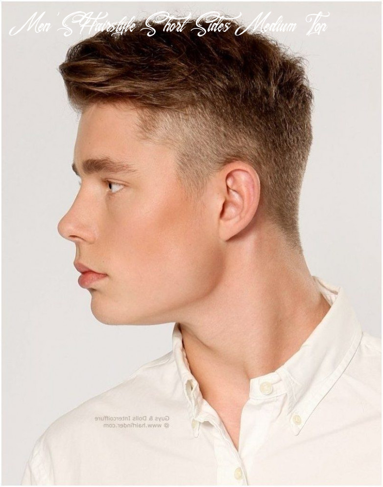 Hairstyles for boys long top short side in 8 | mens hairstyles