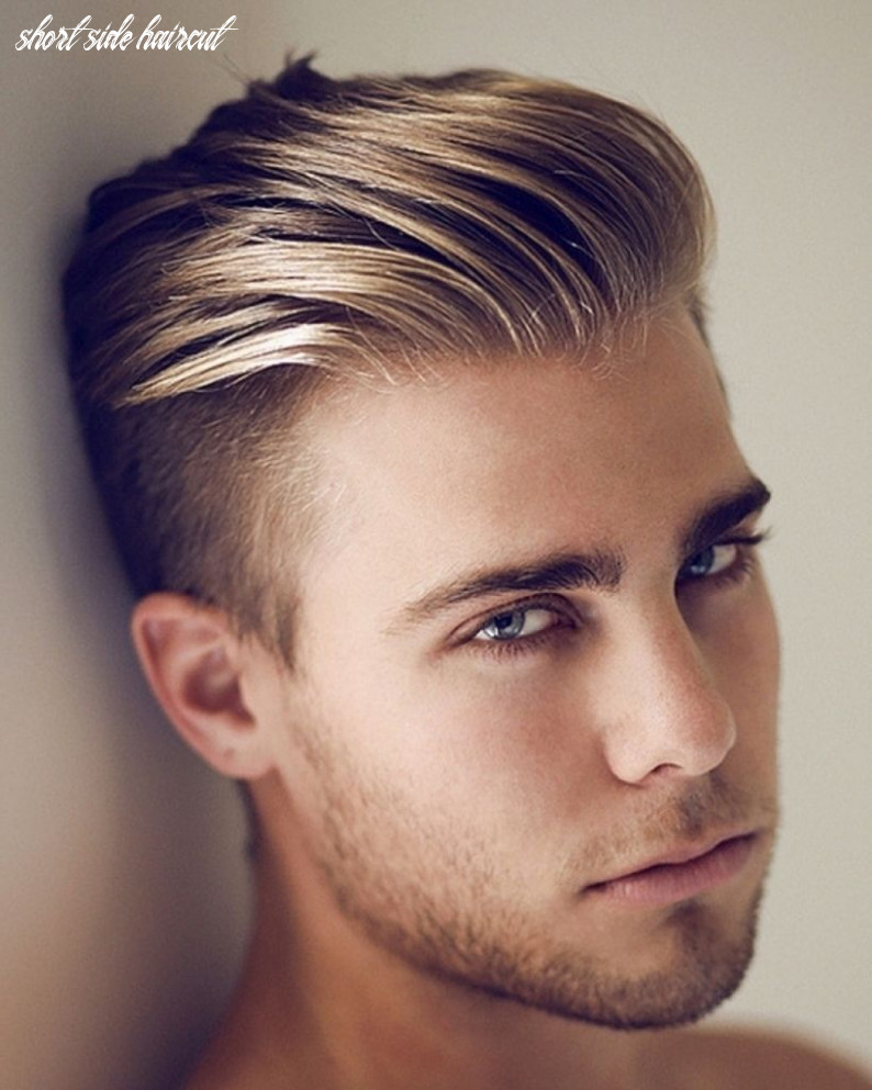Hairstyles for boys long top short side in 9 | hipster haircut