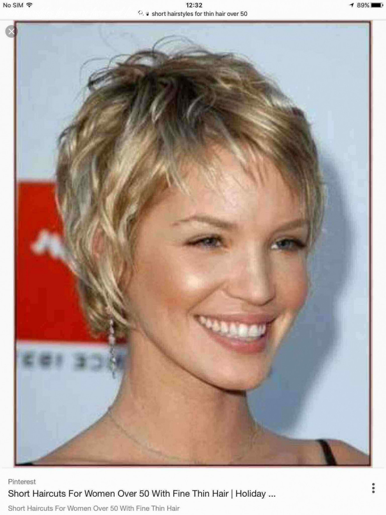 Hairstyles for fine hair and square face awesome fashion short