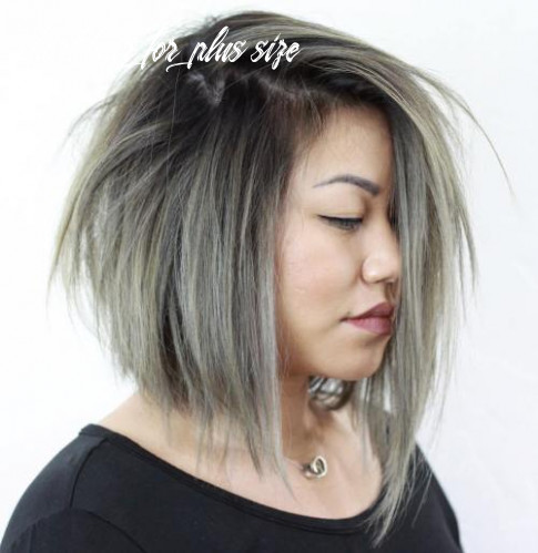 Hairstyles for full round faces – 11 best ideas for plus size women short hair for plus size