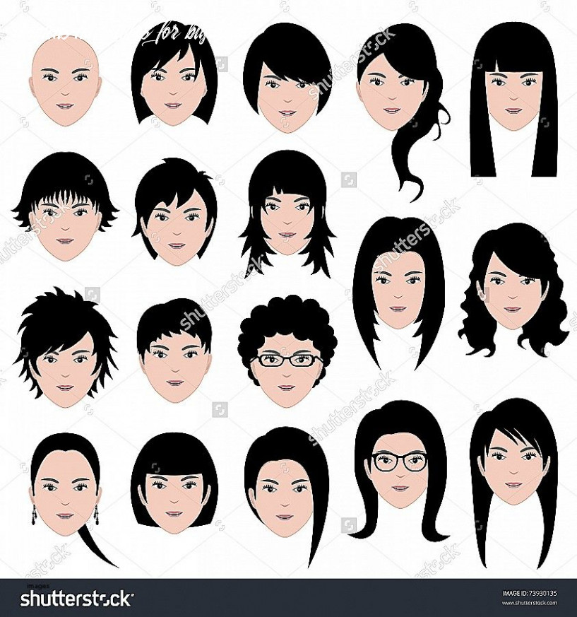 Hairstyles For Girls With Big Heads - Hairstyle Guides