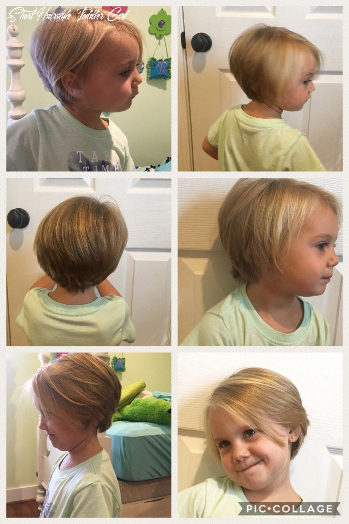 Hairstyles for little girls with long hair | chin length