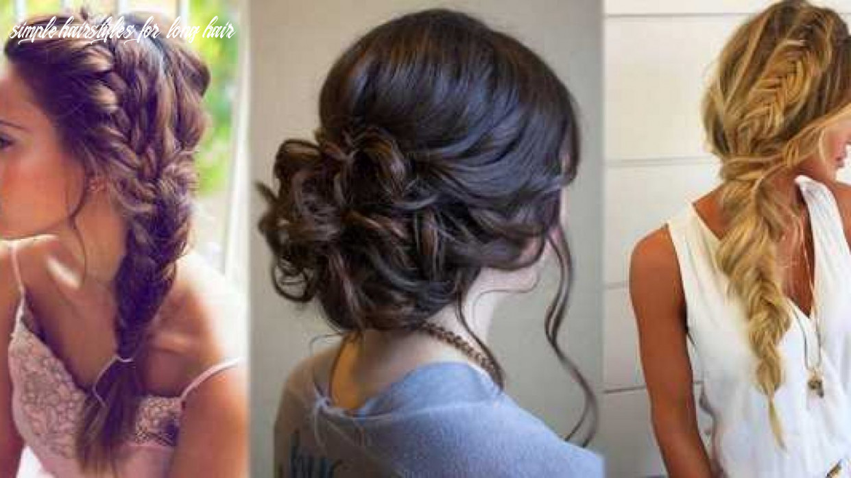 Hairstyles for long hair simple hairstyles step by step flowers