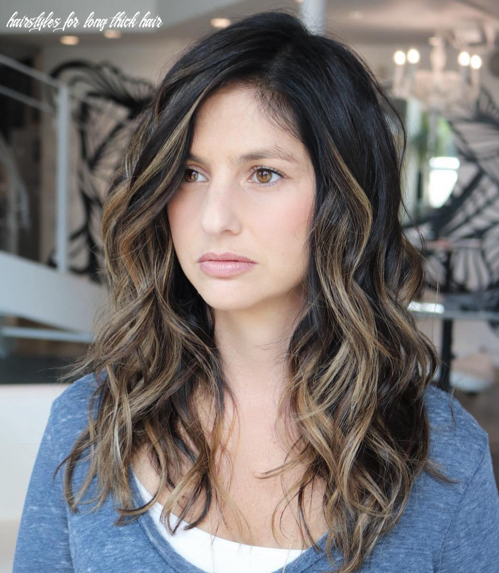 Hairstyles For Long Thick Wavy Hair   Free Haircut