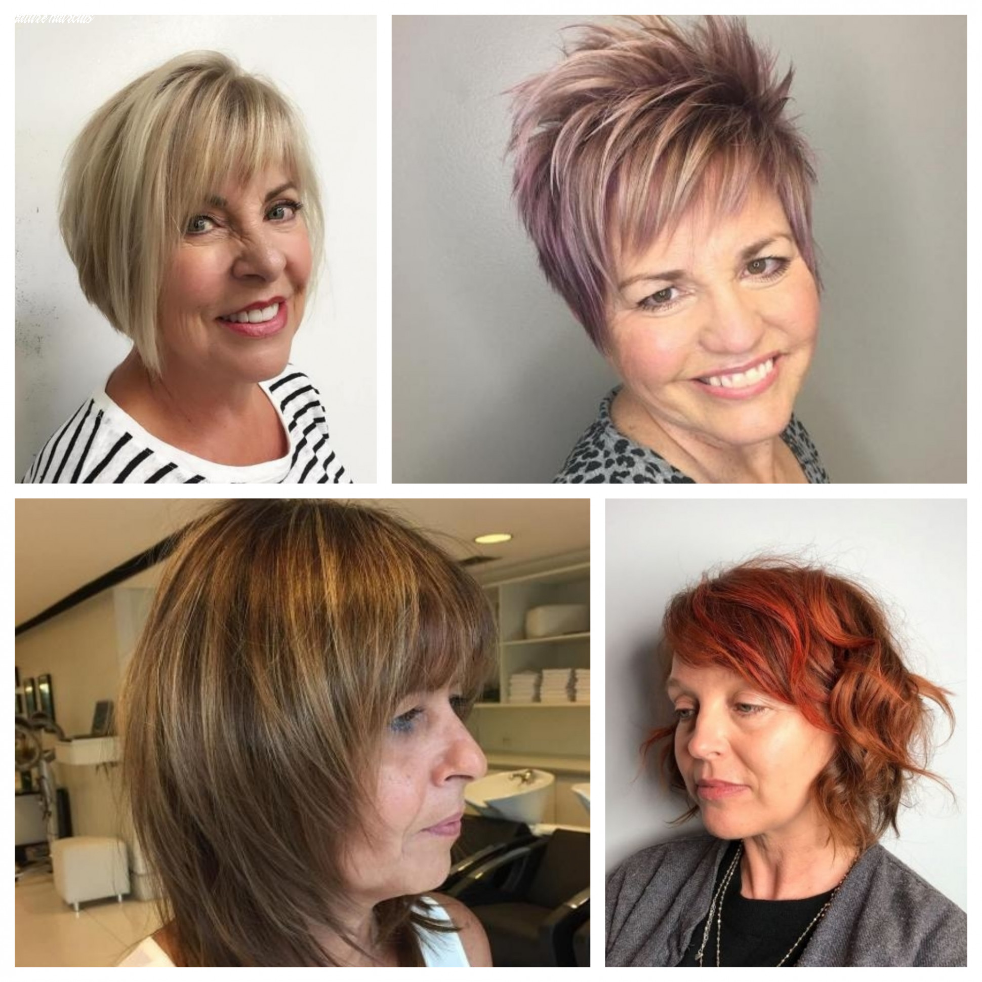 Hairstyles for Mature Women   12 Haircuts, Hairstyles and Hair ...
