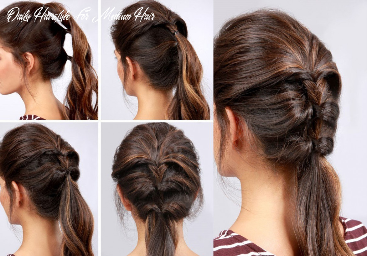 Hairstyles for medium hair to yourself: great ideas for various