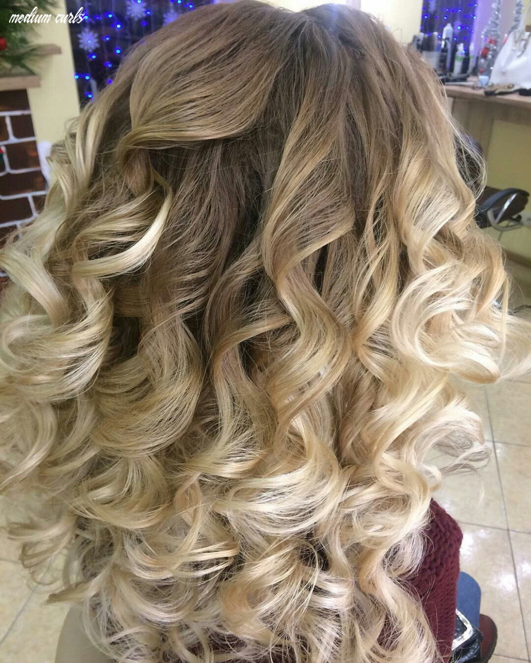 Hairstyles for medium hair with curls emo loose curls for medium