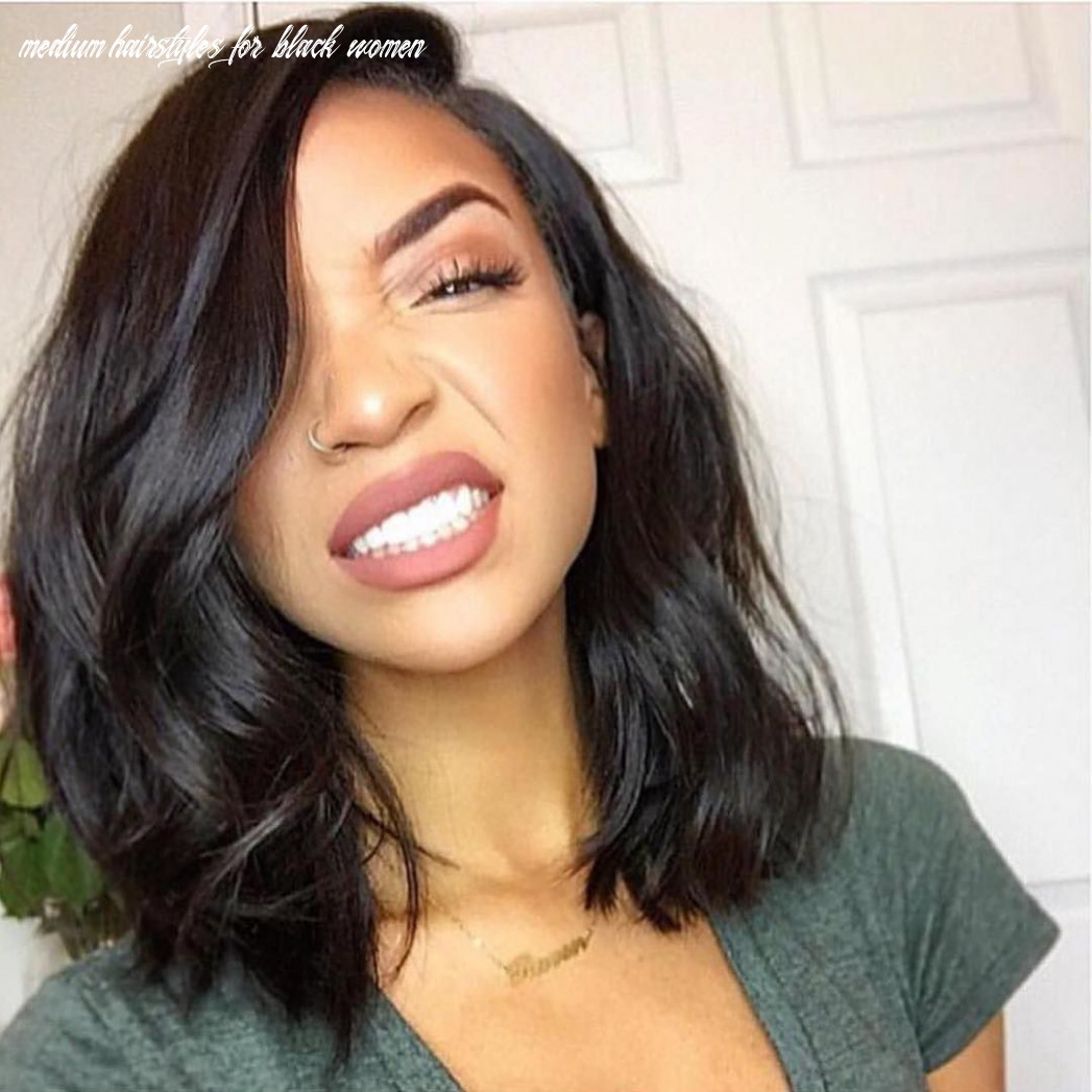 Hairstyles for medium length hair for black women   find your