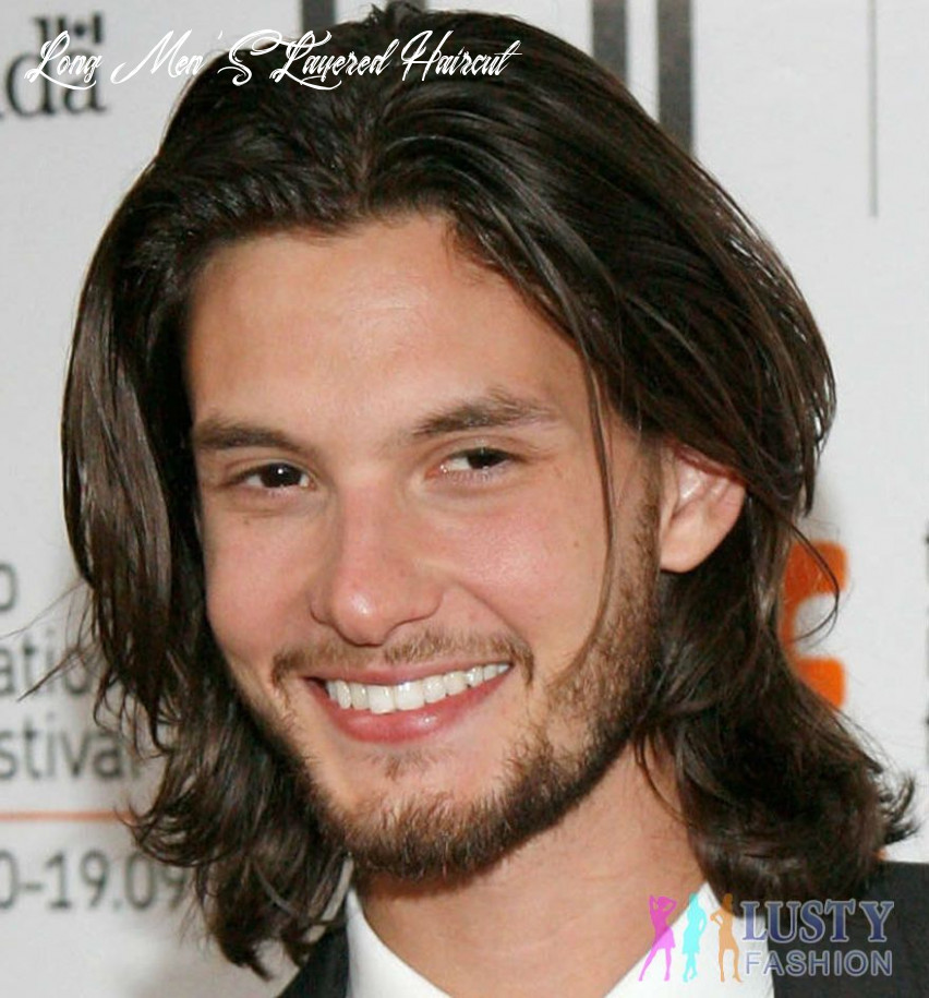 Hairstyles for men according to face shape   medium hair styles