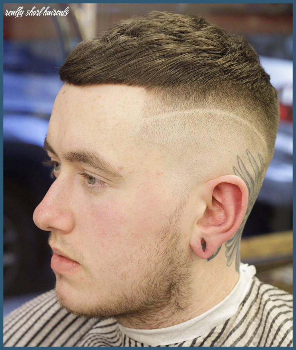 Hairstyles for men with really short hair 11 11 very short