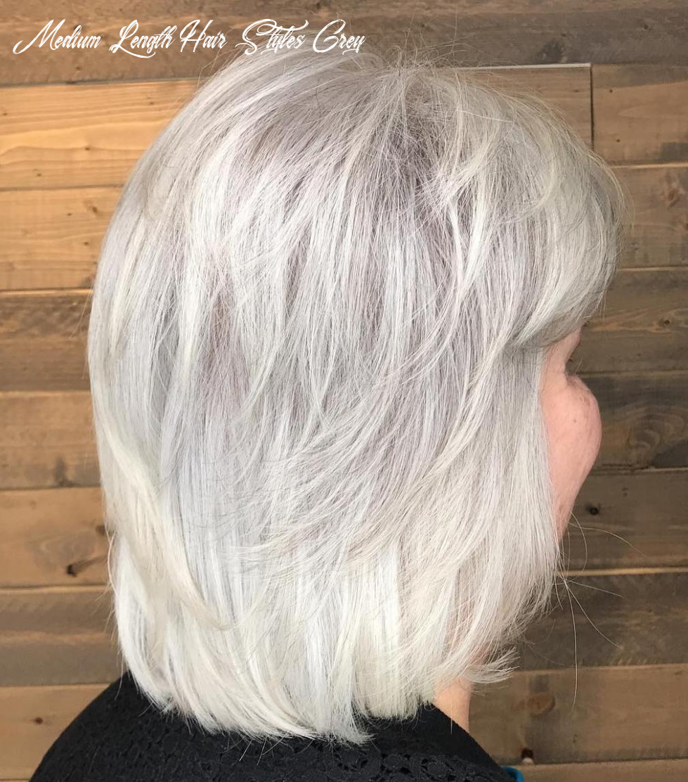 Hairstyles For Over 9 Grey Hair Curly - Haircut Today