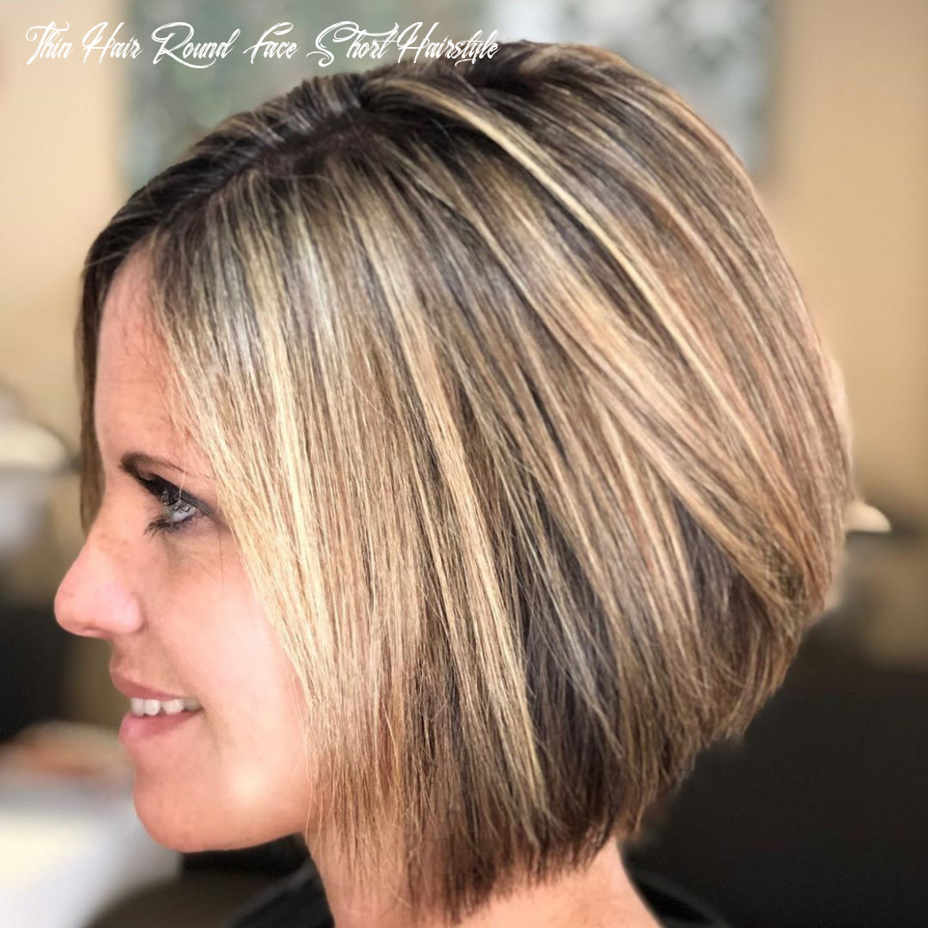 Hairstyles for round faces and thin hair haircut today thin hair round face short hairstyle