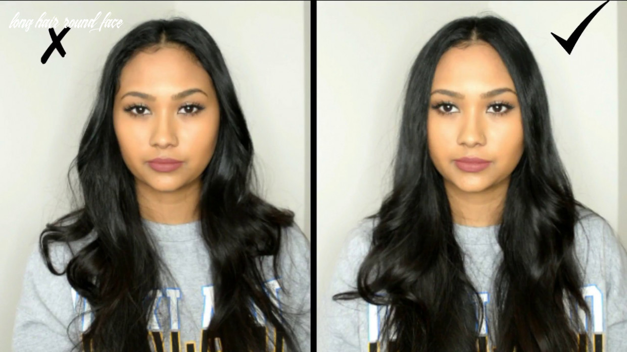 Hairstyles for round faces dos and donts long hair round face
