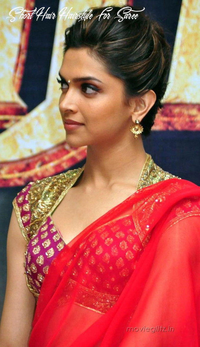 Hairstyles for Saree -10 Cute Hairstyles to Wear with Saree