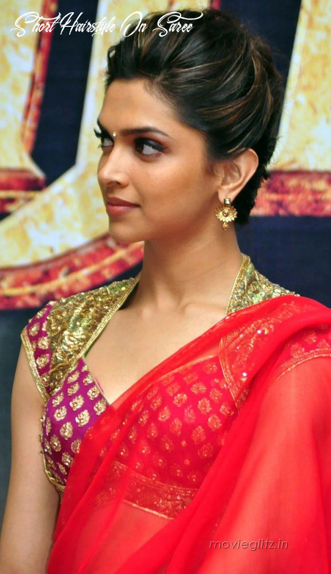 Hairstyles for saree 8 cute hairstyles to wear with saree short hairstyle on saree