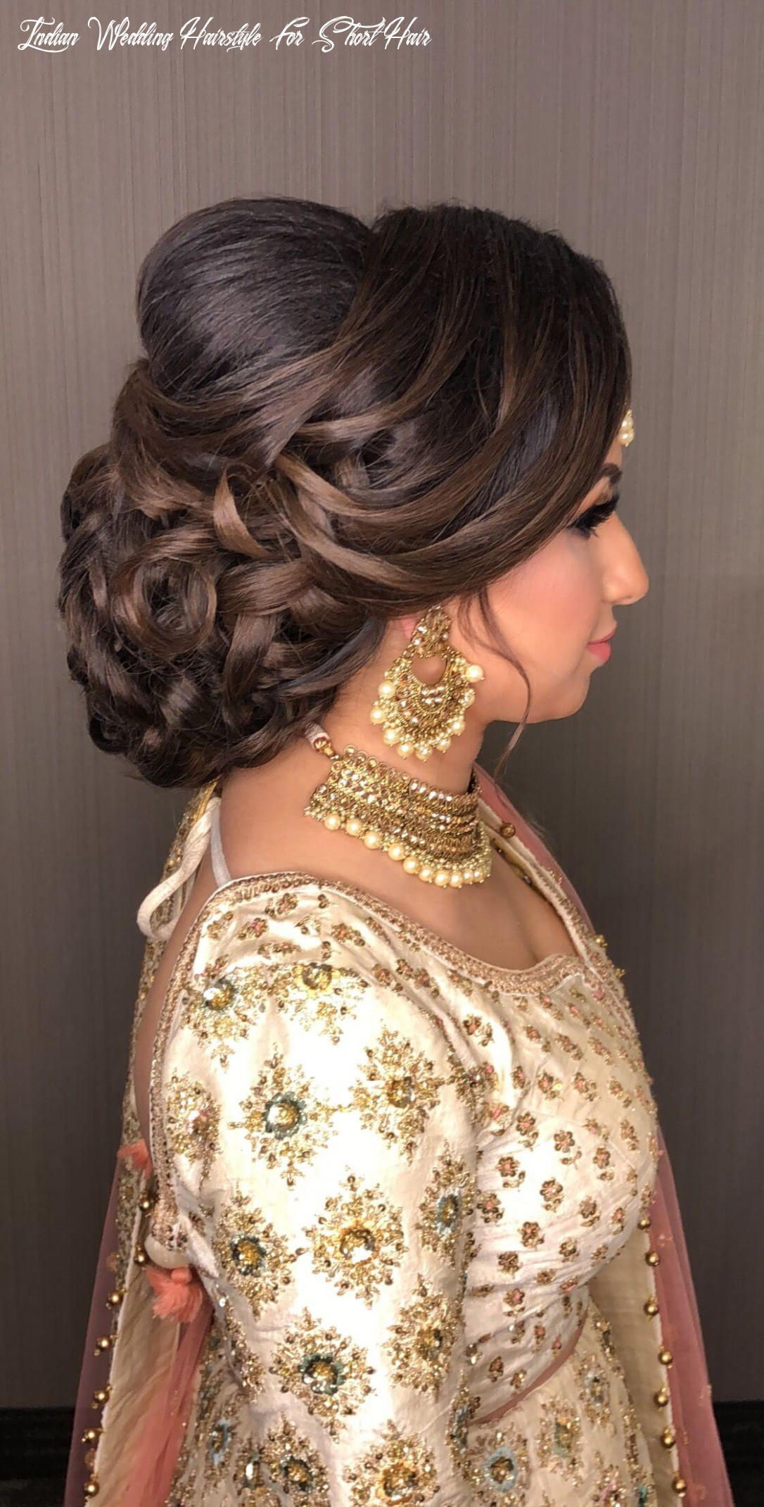 Hairstyles for short hair for indian wedding 10 indian wedding hairstyle for short hair