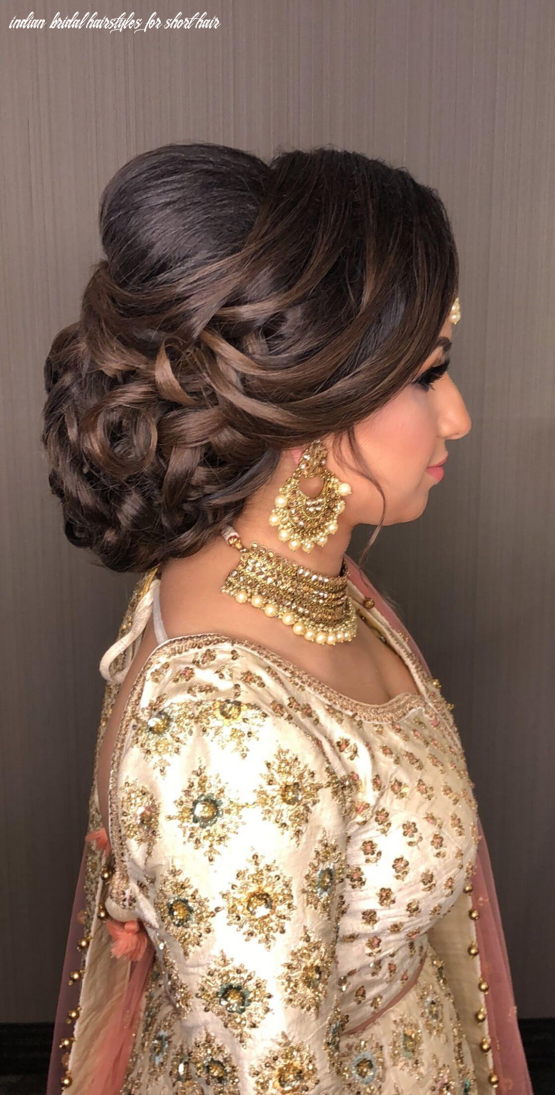 Hairstyles for short hair for indian wedding 8 indian bridal hairstyles for short hair