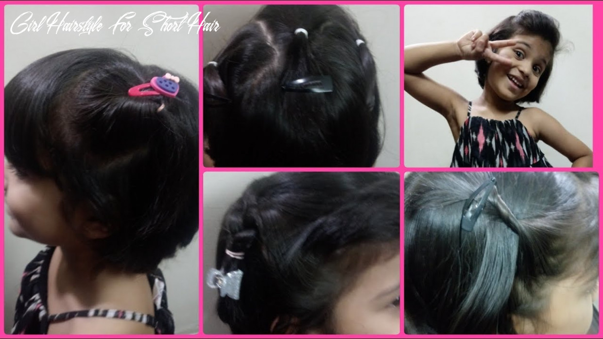 Hairstyles for short hair kids |easy girls hairstyles |mylittleworld tamil girl hairstyle for short hair