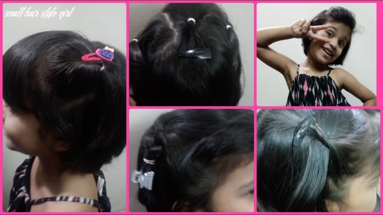 Hairstyles for short hair kids |easy girls hairstyles |mylittleworld tamil small hair style girl
